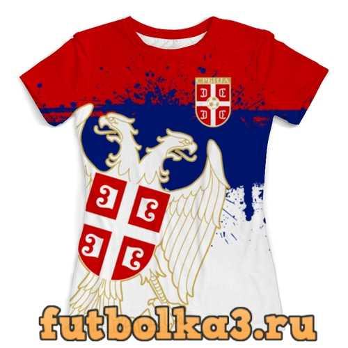 Футболка Сборная Сербии женская