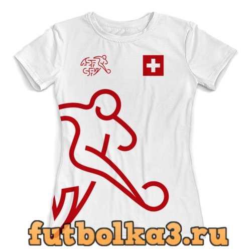 Футболка Сборная Швейцарии женская