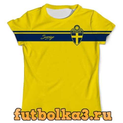Футболка Сборная Швеции мужская