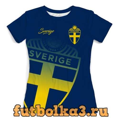 Футболка Сборная Швеции женская