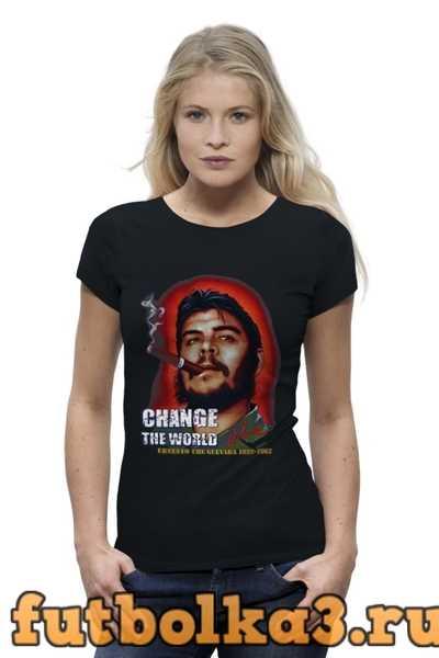 Футболка Сhe Guevara женская