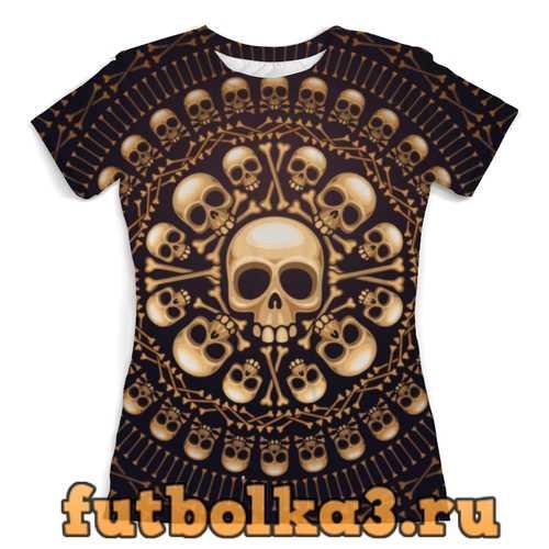 Футболка Show Skull женская