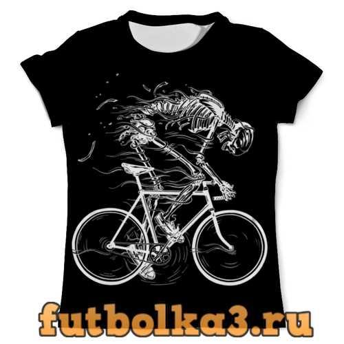Футболка Skeleton Biker мужская