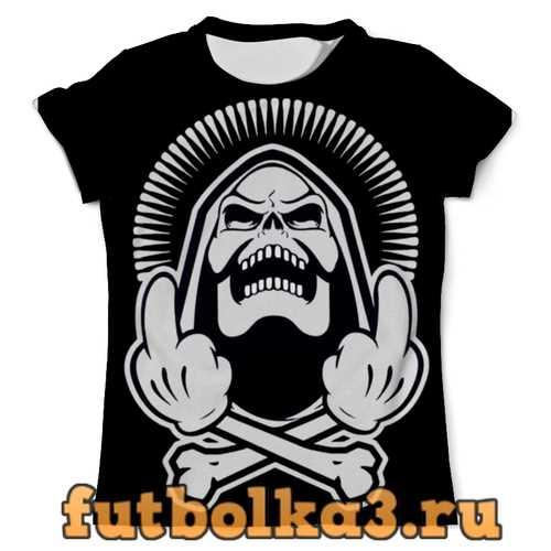 Футболка Skeleton F*ck You мужская