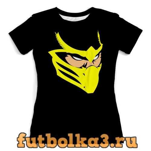 Футболка Скорпион женская