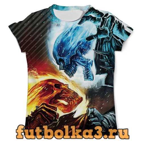 Футболка Skull Design мужская