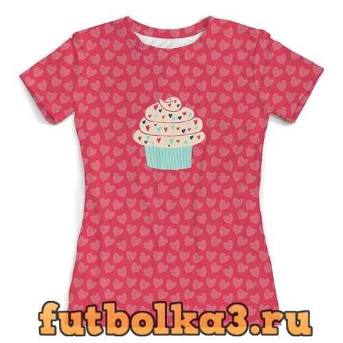 Футболка сладости женская