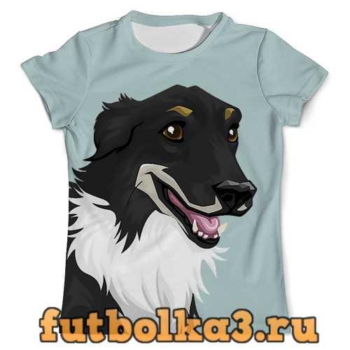 Футболка Собачка (1) мужская
