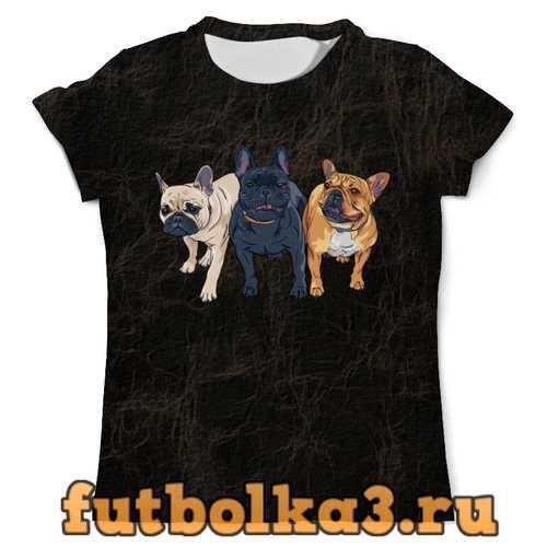 Футболка Собаки мужская