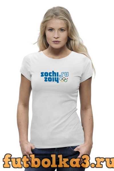 Футболка SOCHI 2014 женская
