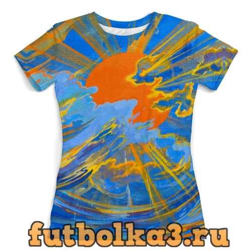 Футболка Солнце женская