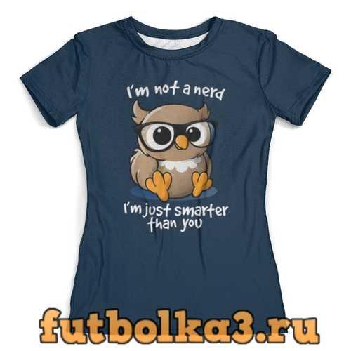 Футболка Сова женская