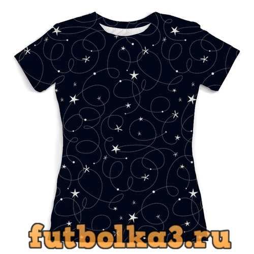 Футболка созвездия женская