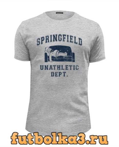 Футболка Springfield Unathletic Dept мужская