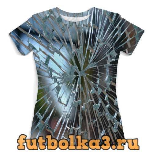 Футболка стекло женская
