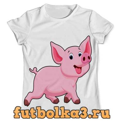 Футболка Свинка мужская