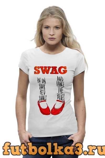 Футболка Swag Art женская