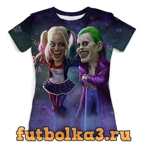 Футболка The Joker&Harley Quinn Design женская