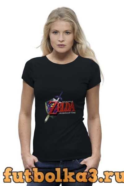Футболка The Legend Of Zelda женская