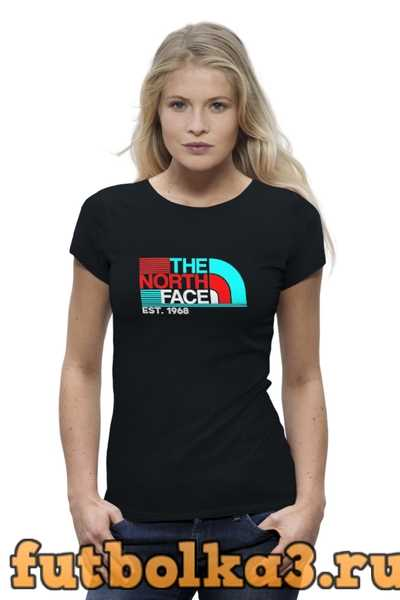 Футболка The North Face женская