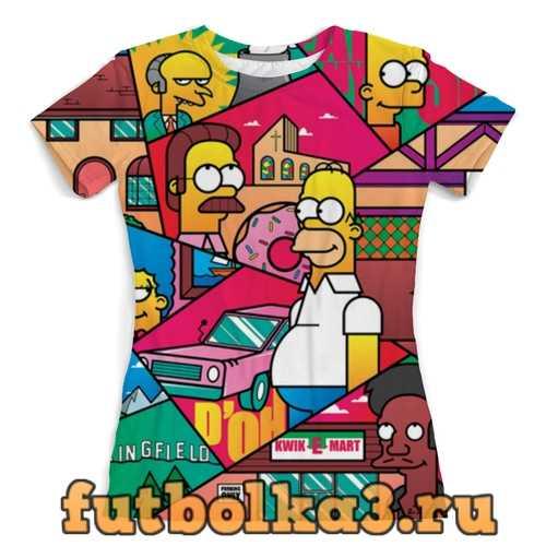 Футболка The Simpsons женская