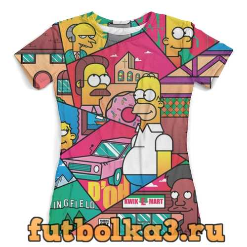 Футболка The Simpsons_ женская