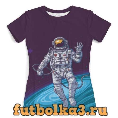 Футболка The Spaceway Travel женская