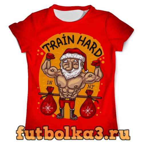 Футболка TRAIN HARD IN NEW YEAR мужская