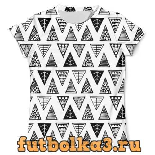 Футболка Треугольники мужская