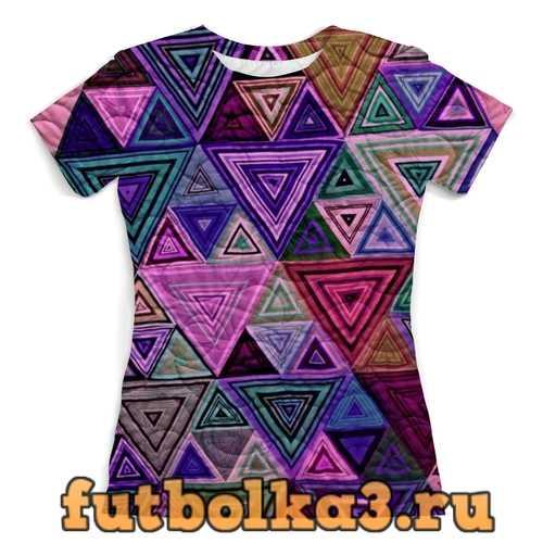 Футболка Треугольный женская