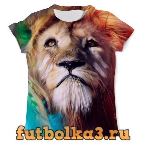 Футболка Царь зверей мужская