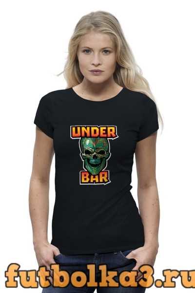 Футболка Under bar t-shirt женская