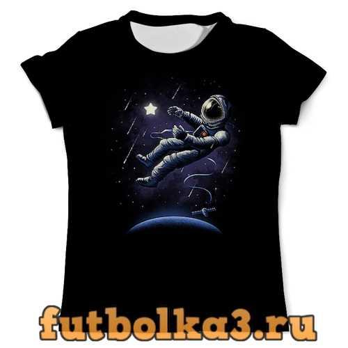 Футболка В космосе мужская