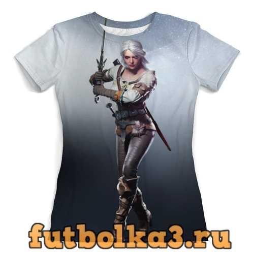 Футболка Ведьмак женская