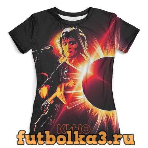 Футболка Виктор Цой (группа Кино) женская