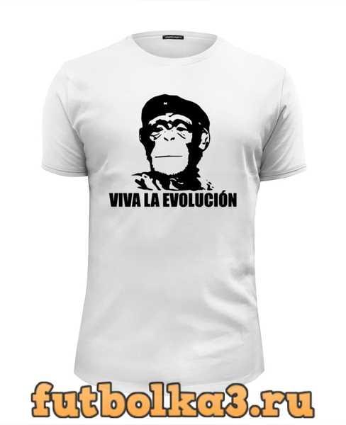 Футболка Viva La Evolucion мужская