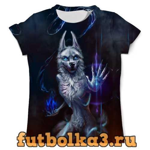 Футболка Волк маг мужская