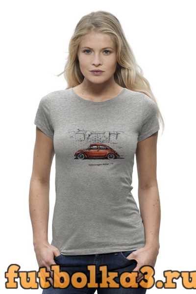 Футболка Volkswagen Beetle женская
