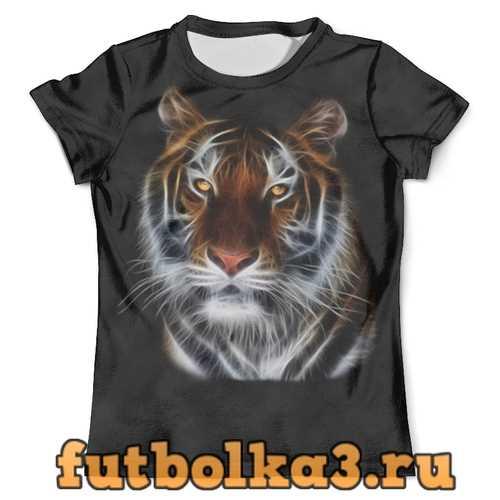 Футболка Взгляд тигра мужская