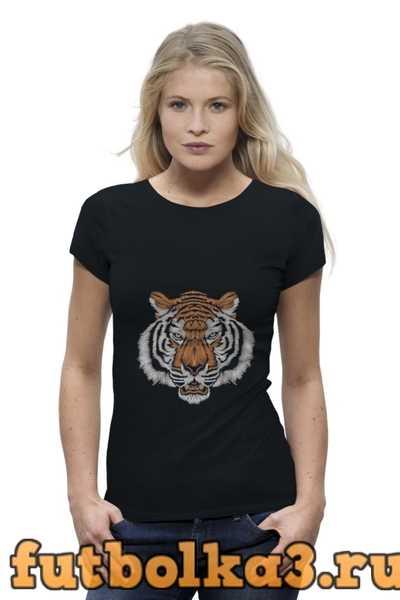 Футболка Взгляд тигра женская