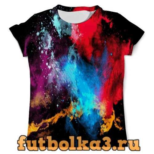 Футболка Взрыв красок мужская