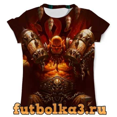 Футболка WarCraft Collection: ork мужская