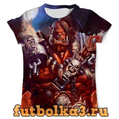 Футболка WarCraft: Орк мужская