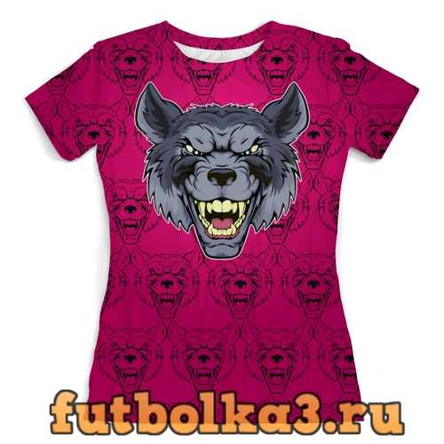 Футболка Were Wolf женская