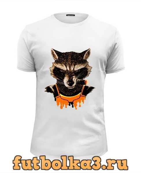 Футболка Whats a raccoon? мужская
