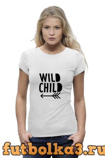 Футболка Wild Child женская