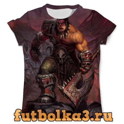 Футболка world of warcraft мужская