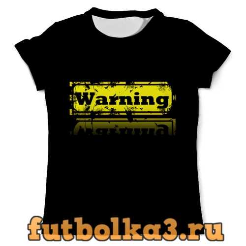 Футболка Worning мужская