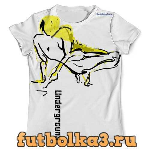 Футболка Yellow nude мужская