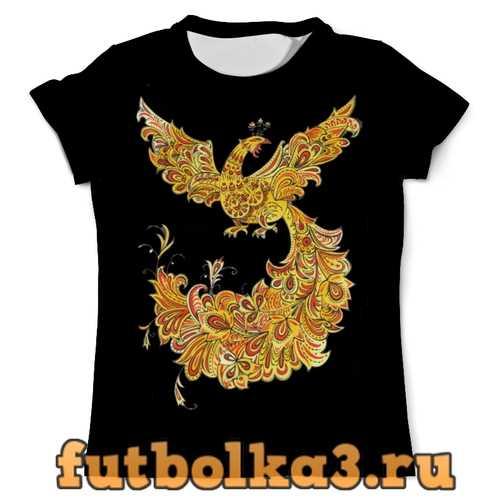 Футболка Жар-птица (Хохлома) мужская